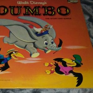 Dumbo Vintage Vinyl Record